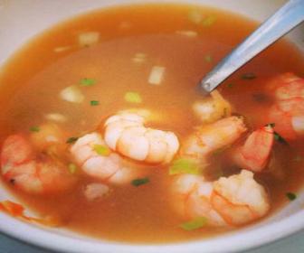 receta de caldo de mariscos