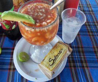 Receta de coctel de camar n antojitos mexicanos - Coctel de marisco ingredientes ...