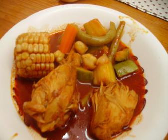 Chicken Breasts In Ginger Mole (Mole De Jengibre Con ...